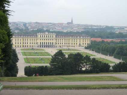 Viena - Palatul Schönbrunn
