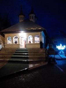 ... in prag de seara, la Manastirea Cioclocov - Olt