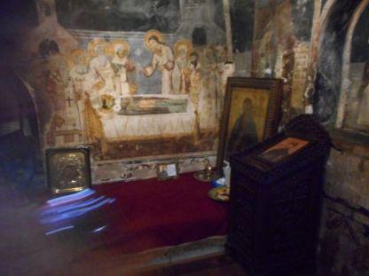 ... locul de veci al Sfantului Naum ...