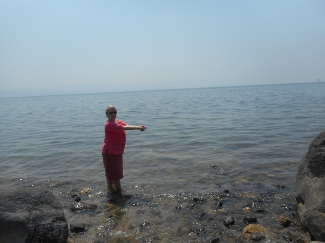 ... marea Galileii ...