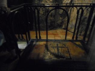 ... locul in care Imapteasa Elena a gasit sfanta cruce ...