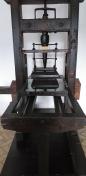 ... teasc tipografic din lemn de par, secolul al XVIII ...
